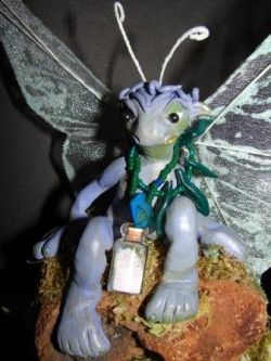 Woodland Moss Fairy