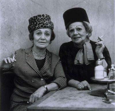 Diane Arbus: Two Women Lunching, The Normal Made Freakish