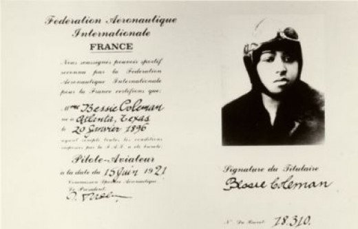 Bessie Coleman Had to Go to France to Learn to Fly