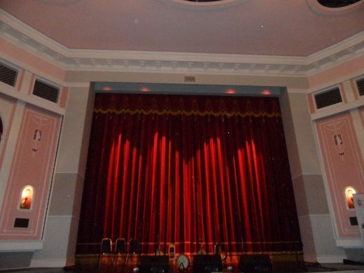 Inside the restored Capital Theater.
