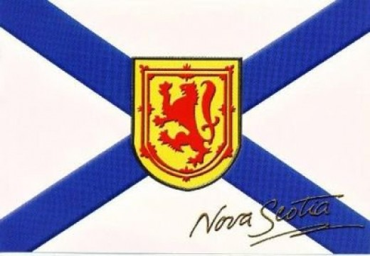 The Flag of Nova Scotia