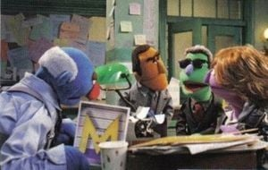 The John Munch Muppet:  Special Letters Unit