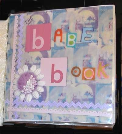 Cover of Hand Made Baby Scrapbook