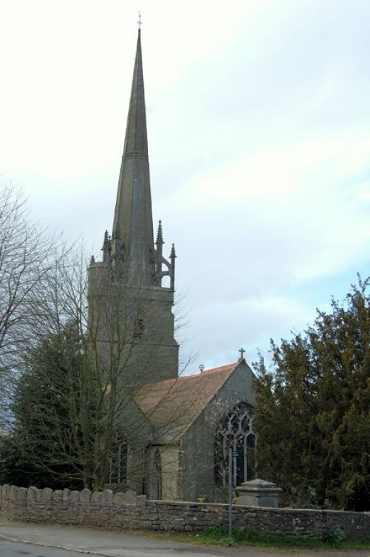 The village church and final resting place for a few family members.