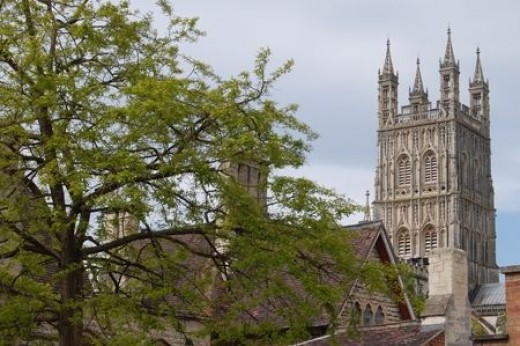The Cathedral from Hare Lane