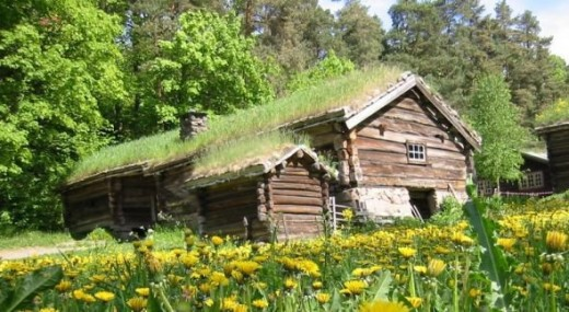 Photo of the Norwegian Museum of Cultural History in Bygdwww.answers.com/topic/log-cabin#ixzz1yrrAB0om