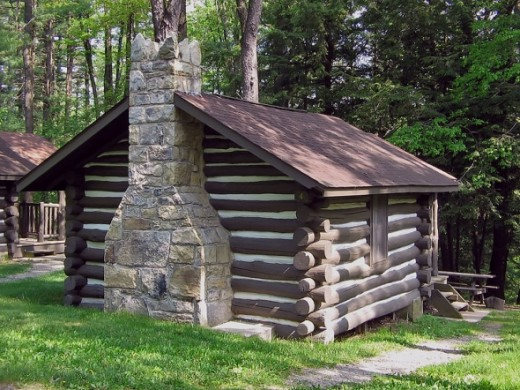 Black Moshannon State Park, Pennsylvania log cabin was built by the CCC between 1933-1937.www.answers.com/topic/log-cabin#ixzz1ys2tNGPv
