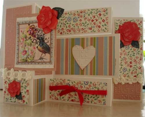 Valentine Card with Fancy Fold