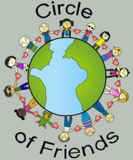 Love my global circle of friends!