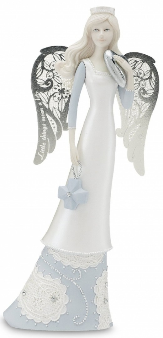 Little Things Mean A Lot Angel Nurse Click on figurine