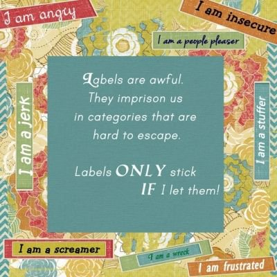 Don't let LABELS stick!