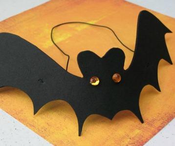 paper plate halloween bat - Halloween Bat Pics