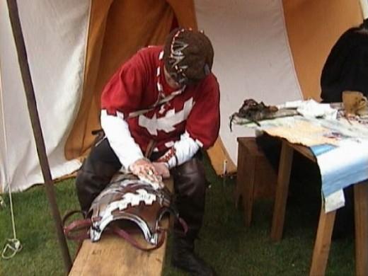 Mediaeval Crafts at Warwick Castle