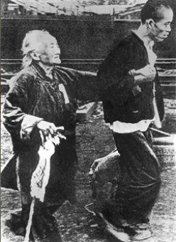 Chinese of all ages tried to escape the advancing Japanese Army and fled to Nanjing where they thought they would be safe.