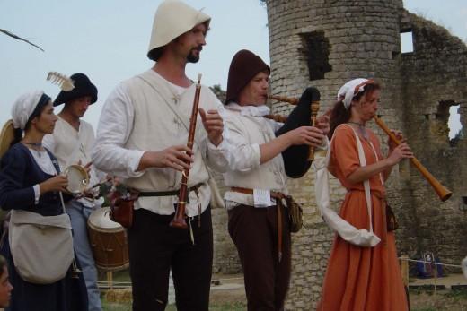 Medieval Festival at Chateau de Commequiers