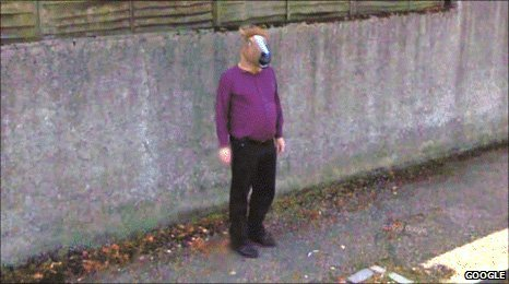 BBC News: Mystery surrounds 'horse-boy' on Google Street View*a