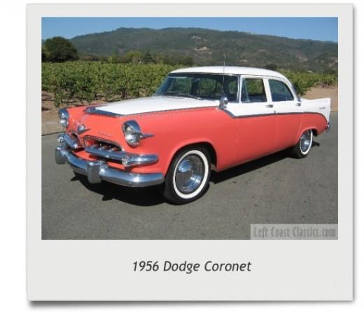 Two-tone 1956 Dodge Coronet