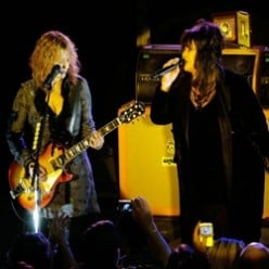 Ann and Nancy Wilson of Heart (Band)