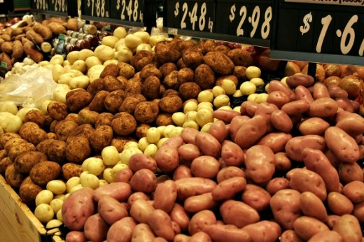 Various Potatoes