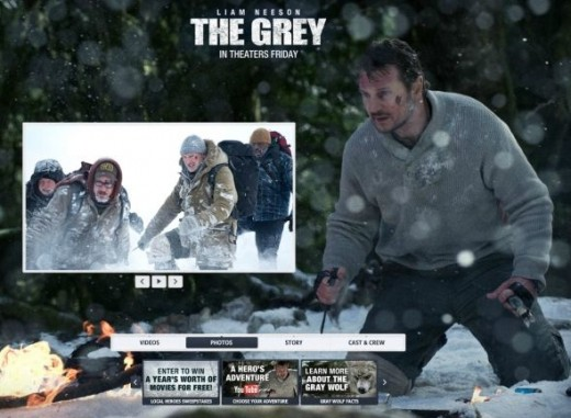 The Grey Official Website