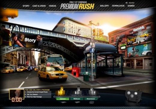 Premium Rush International Website