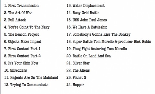 Battleship Soundtrack