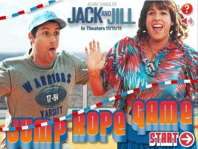 Jack and Jill Jump Rope Game App. Source: Columbia Pictures