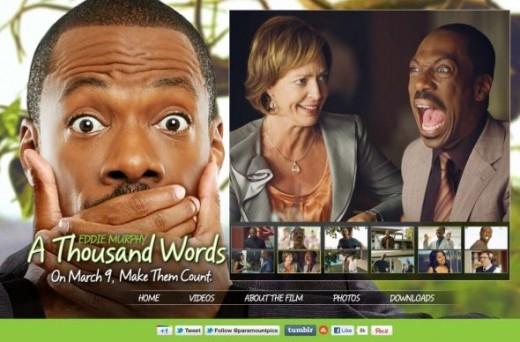 Alison Janney & Eddie Murphy A Thousand Words Website