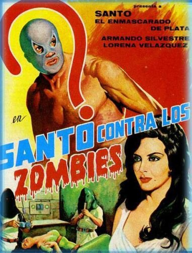Santo contra los zombies (Santo vs. The Zombies, 1961)