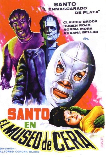 Santo en el museo de cera (Santo In The Wax Museum, 1963)