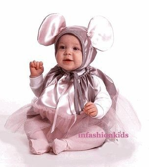 Ballet Baby Mouse Costume
