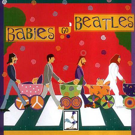 Babies Go Beatles Album Cover