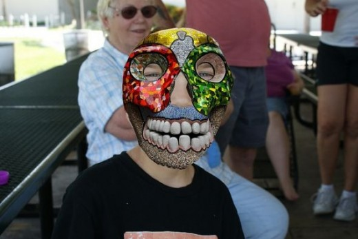 Lady Gaga Skull Mask