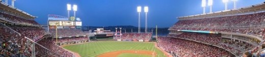 Great American Ballpark, Cincinnati, Ohio