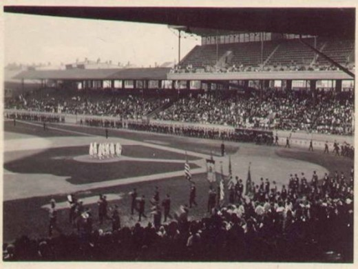 Crosley Field - 1912-1970 - First night game in 1935 in Major League Baseball was played here.