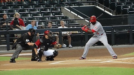 Brandon Phillips Action Shot