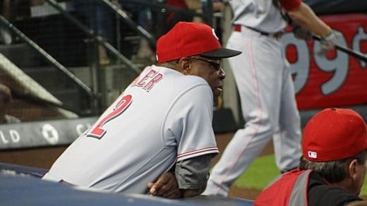 Dusty Baker Managing the Game