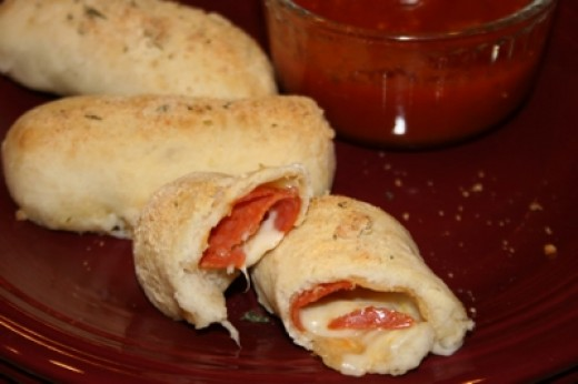 Easy Pepperoni Pizza Bread Directions