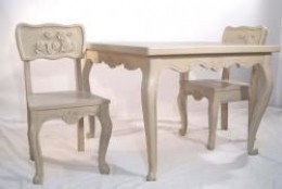 """""""Bunny"""" Toddler Table and Chair Set"""
