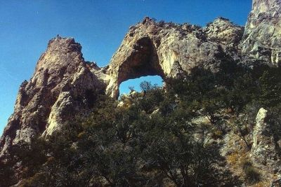 Lexington Arch in Great Basin National Park