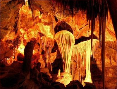 The cavernous underground rooms of Great Basin