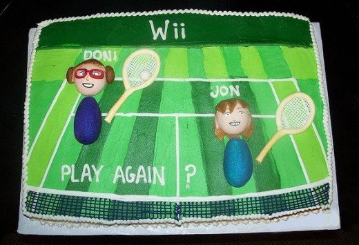 wii cake