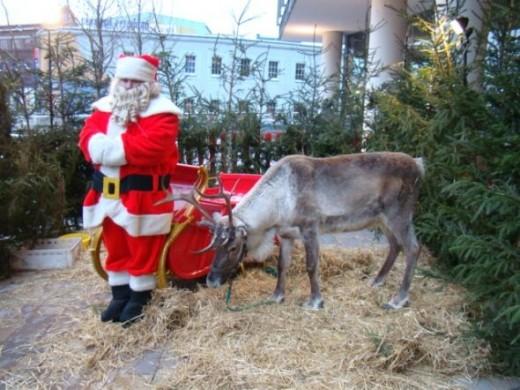 Santa and Donner