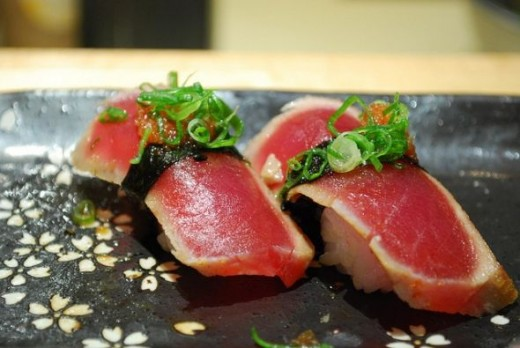 Lightly seared Australian Tuna