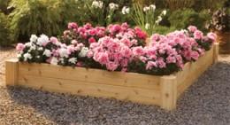 Rustic Cedar Raised Garden Bed