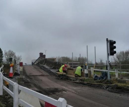 Repairing the Wall. February 2011