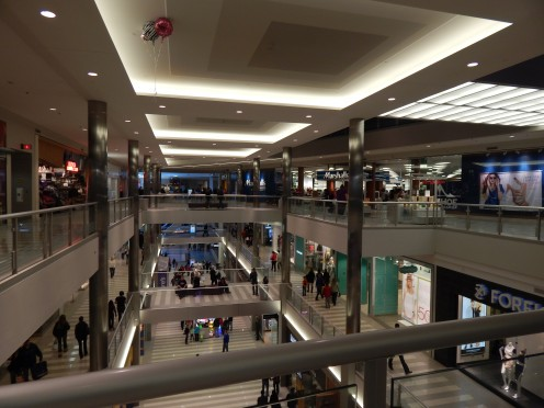 Levels of the Mall