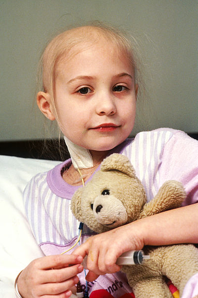 A Child Patient with Her Toy