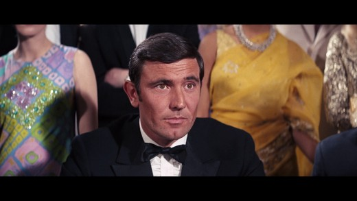 George Lanzenby in his sole performance as James Bond