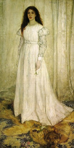 Whistler Symphony In White No. 1, The White Girl, 1862